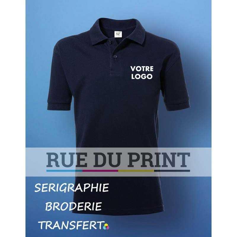 Polo publicité enfant Cotton 180 g/m2 (White: 175 g/m2) 100% coton piqué ringspun (Ash Grey: 99% coton, 1% viscose, Light Oxfo