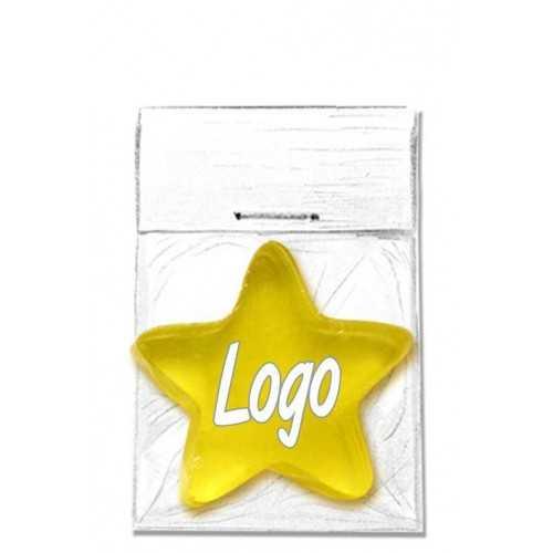 Savon avec logo coulé étoile