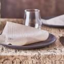 PAPIER RECYCLÉ ET KRAFT : NAPPE ET SET DE TABLE