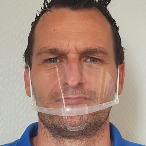 REUSABLE TRANSPARENT MASK