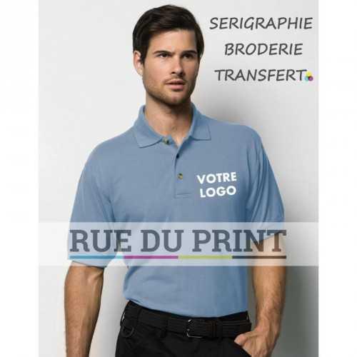 Polo publicité Work 180 g/m² 65% polyester 35% coton piqué patte de boutonnage 3 boutons