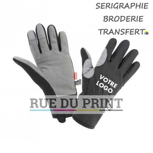 Gants publicités Spiro hiver 80 g/m² dessus gant: 100% polyester paume rembourrée en polyuréthane