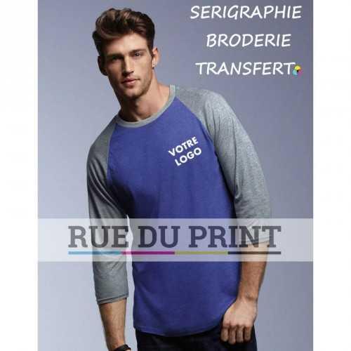 Tee-shirt manches 3/4 Raglan