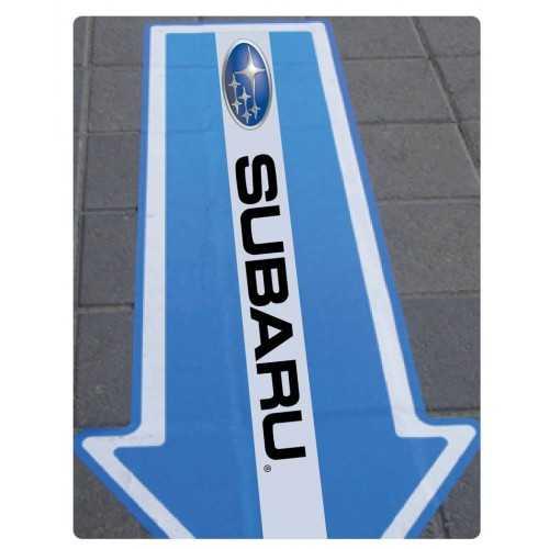 Autocollants pour sol