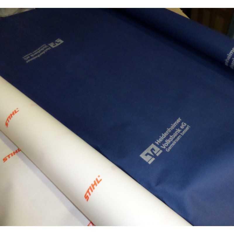 Nappe en intissé en rouleaux personnalisable bleu marine