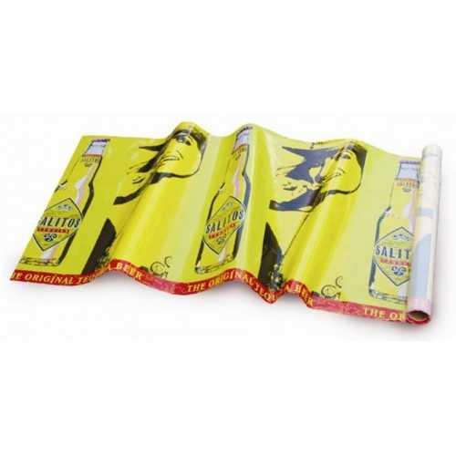 nappes publicitaires jaune