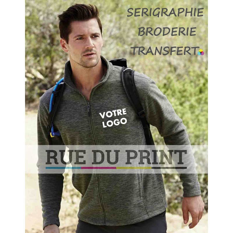Gilet publicité polaire Active Fleece 310 g/m² 100% polyester (fleece mélangé) Traitement anti-boulochage