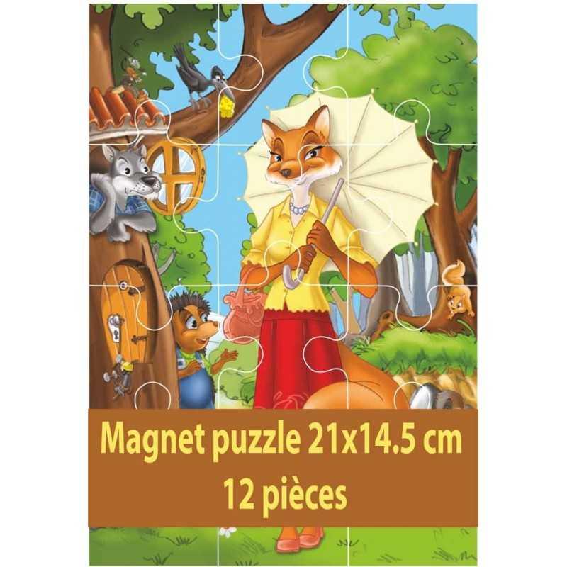 Magnet puzzle 21x14.5 cm personnalisable