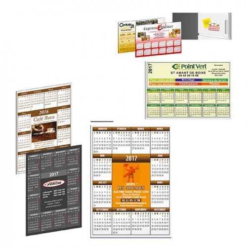 Magnet calendrier personnalisé couleur