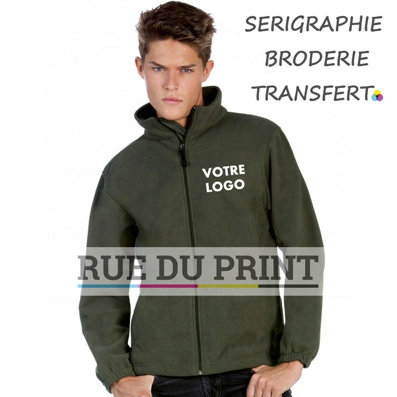 Gilet polaire personnalisable Waterproof Fleece 320 g/m² 100% polyester micropolaire anti-peluche