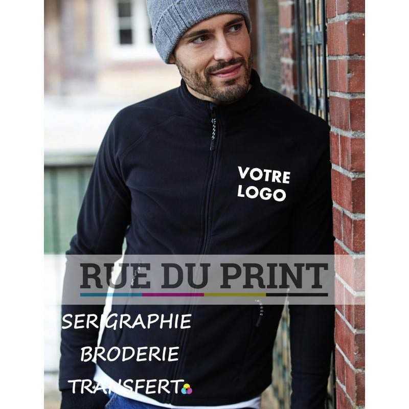 Polaire publicité Active Fleece 170 g/m² 100% polyester micro fleece anti-peluche manches raglan