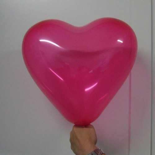 Ballon gonflable hélium personnalisé CŒUR