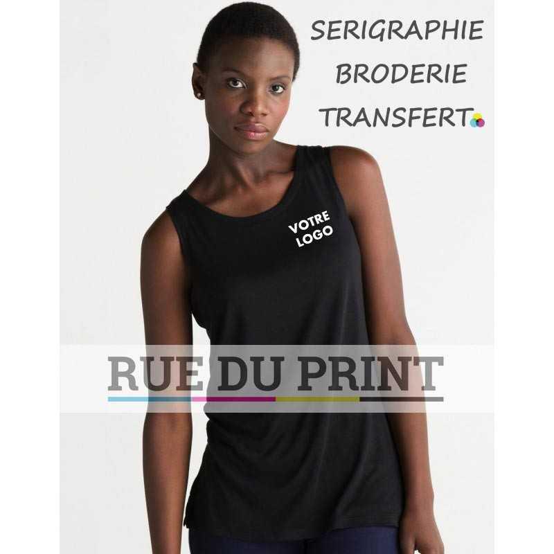 """Débardeur femme """"Black Label"""" Tencel®"""