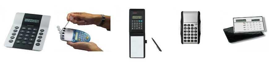 Calculatrices personnalisées