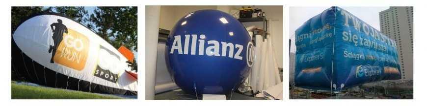 Ballons personnalisés et formes géantes