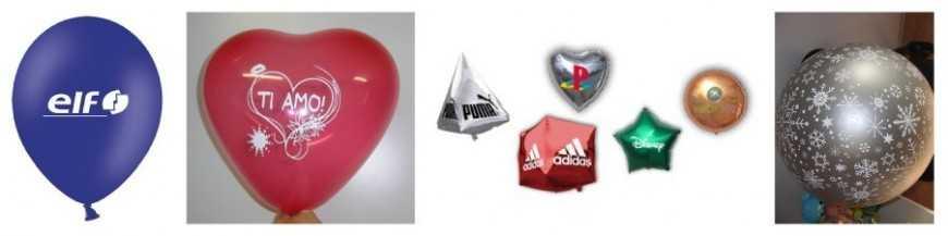 Ballons de baudruche et ballon personnalisé