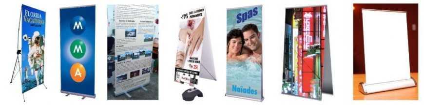 Banners et roll up personnalisé
