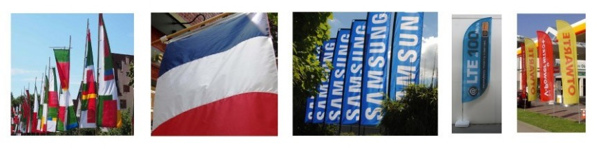 Impression oriflamme et drapeau photo personnalisé